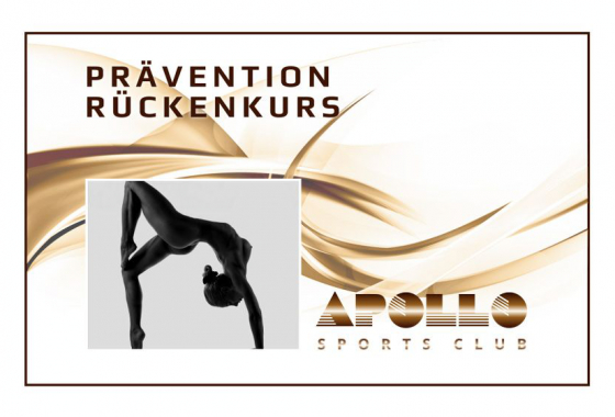 Prävention Rückenkurs