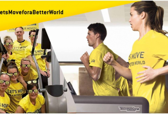 Let`s Move For A Better World