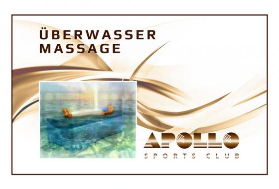 Überwasser Massage